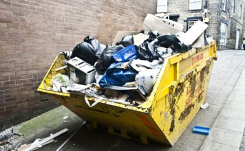Skip Bin Services Usage At Commercial & Residential Areas